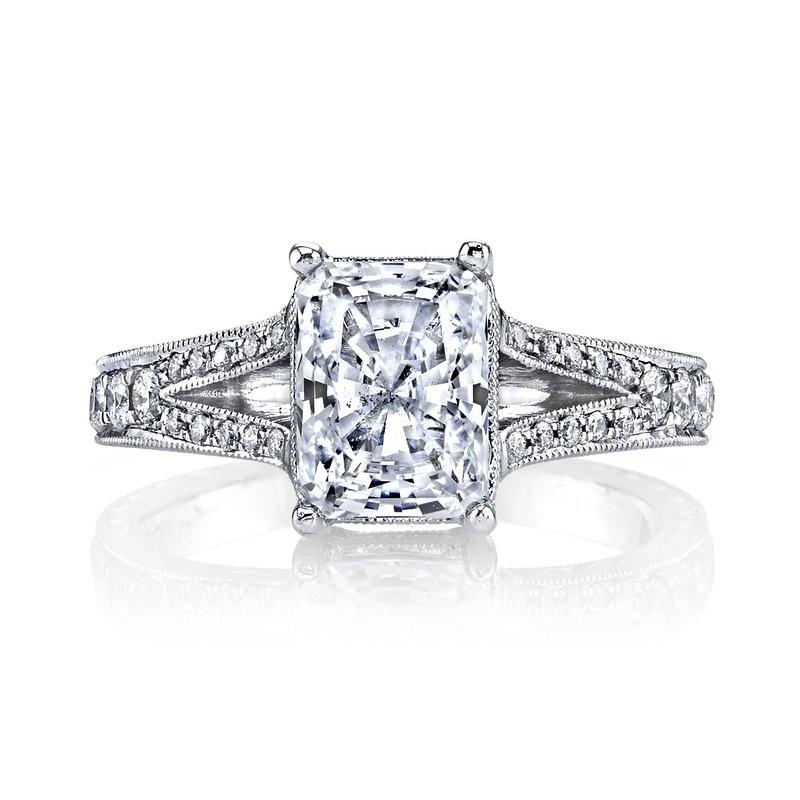 MARS 14529 Diamond Engagement Ring 0.34 Ctw.