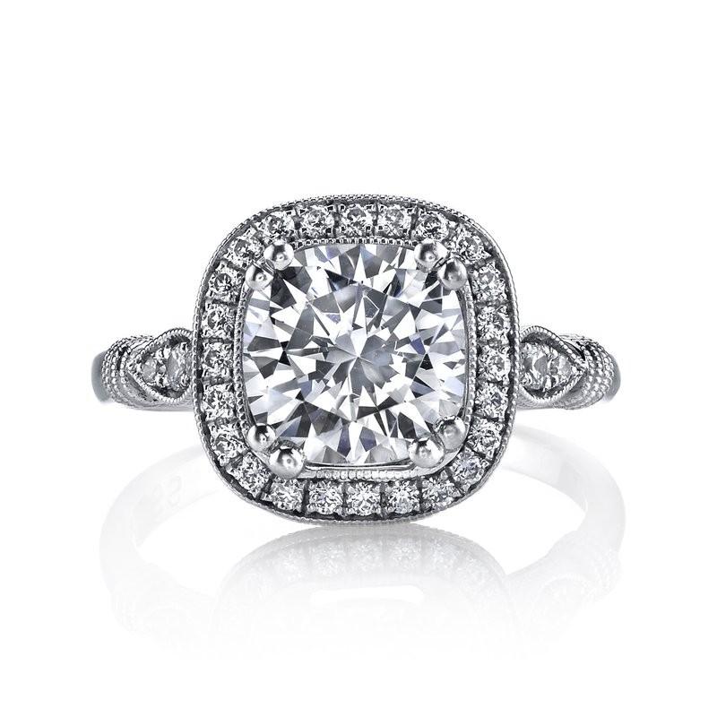 MARS 14664 Diamond Engagement Ring 0.24 Ctw.