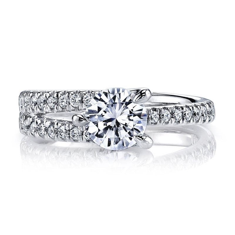 Diamond Engagement Ring 0.45 ct tw