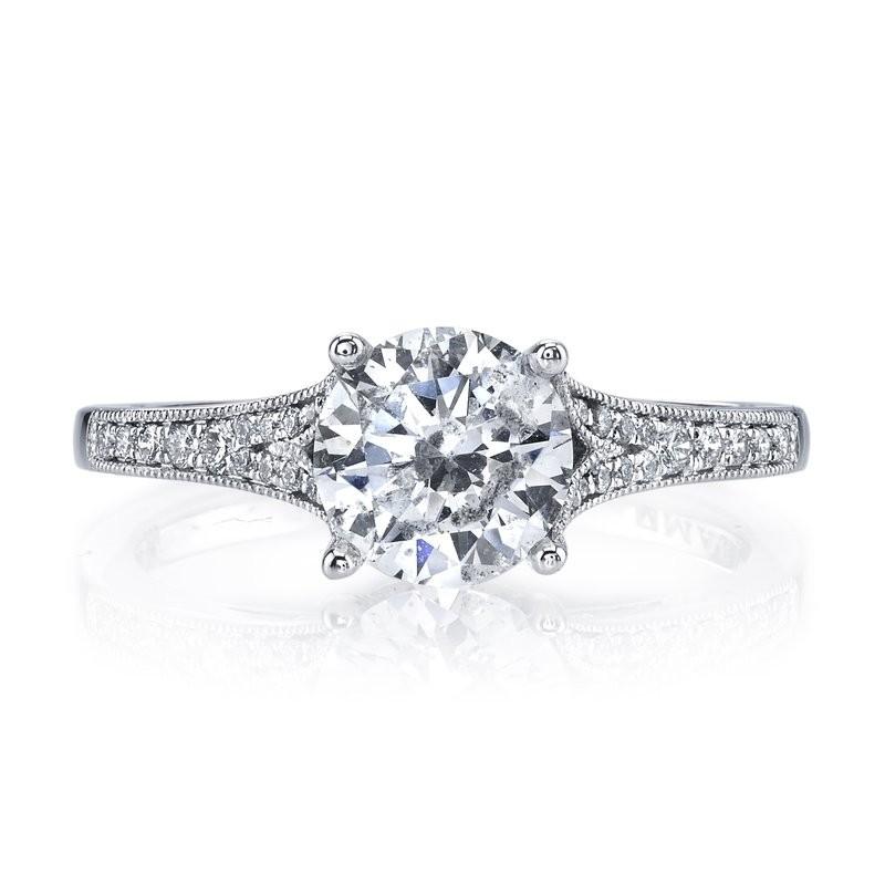 MARS 25330 Diamond Engagement Ring 0.17 Ctw.