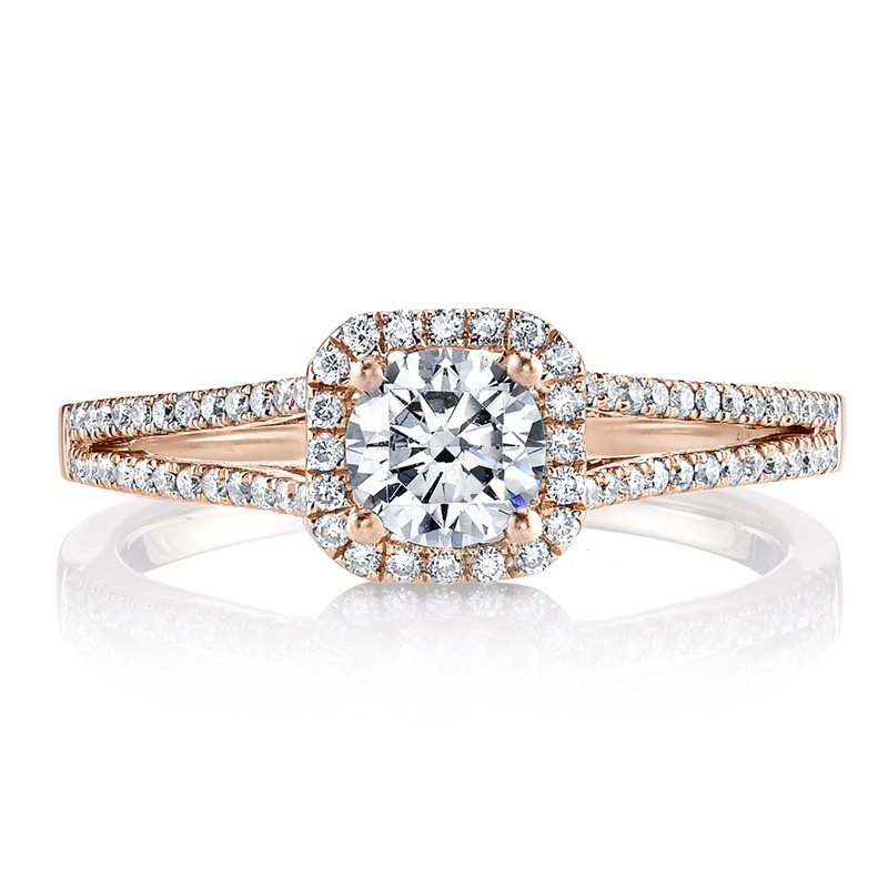 MARS 25355 Diamond Engagement Ring 0.25 Ctw.