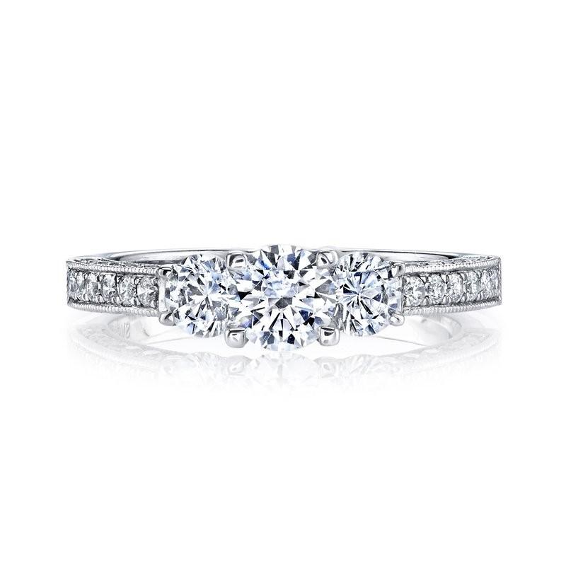 MARS 25472 Diamond Engagement Ring 0.95 Ctw.