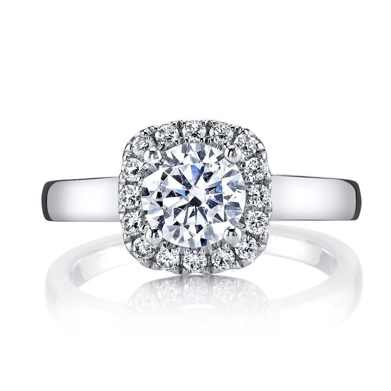 MARS 25517 Diamond Engagement Ring 0.24 Ctw.