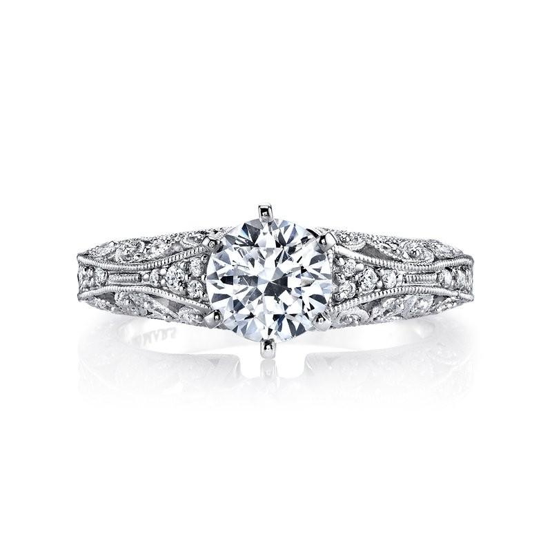 MARS 25777 Diamond Engagement Ring, 0.16 Ctw.