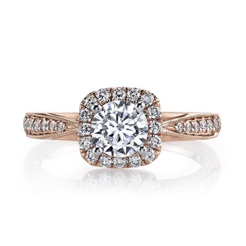 MARS 25804 Diamond Engagement Ring 0.31 Ctw.