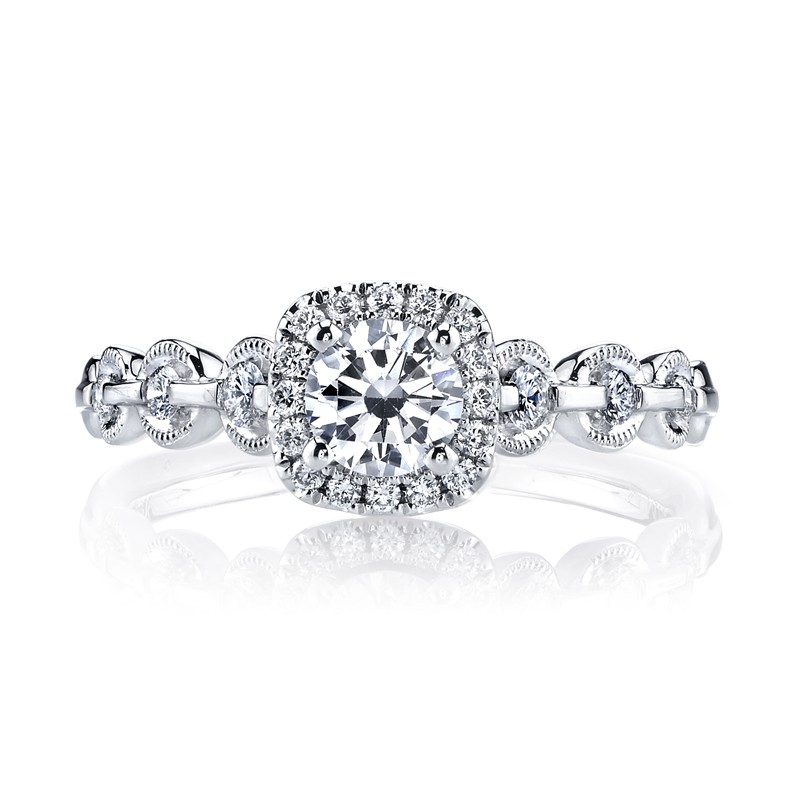 MARS 25829 Diamond Engagement Ring 0.25 Ctw.