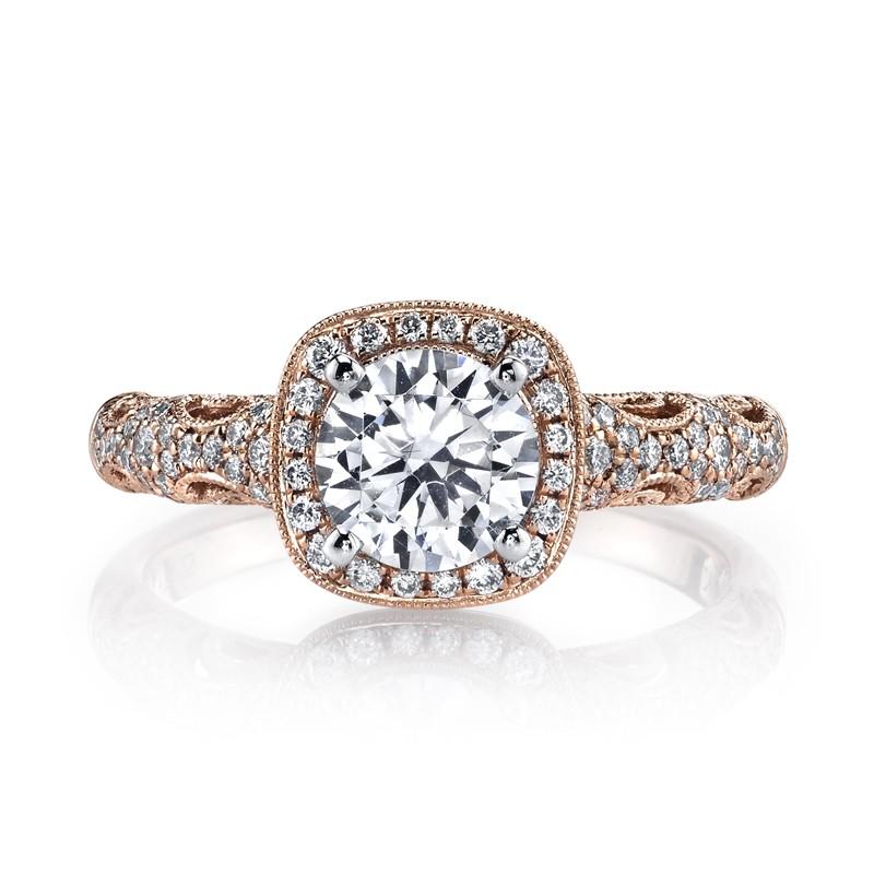 MARS 25870 Diamond Engagement Ring 0.33 Ctw.