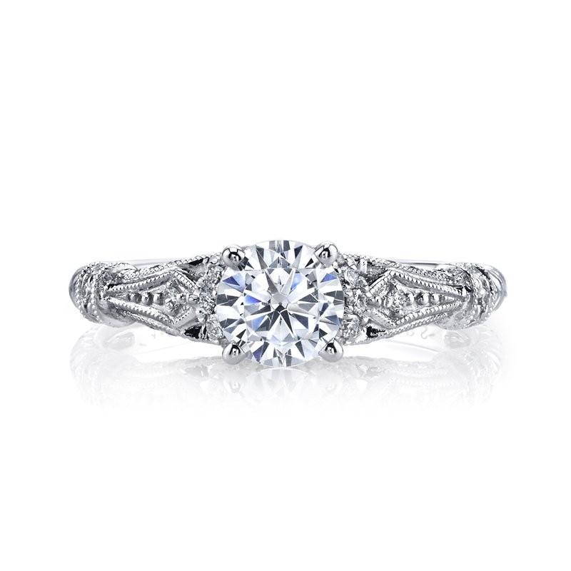MARS 25878 Diamond Engagement Ring 0.25 Ctw.