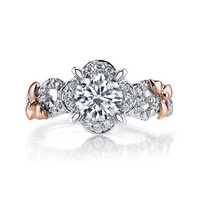 MARS 25953 Diamond Engagement Ring, 0.30 Ctw.