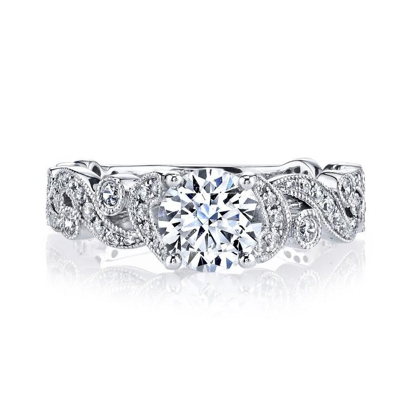 MARS 25988 Diamond Engagement Ring 0.40 Ctw.