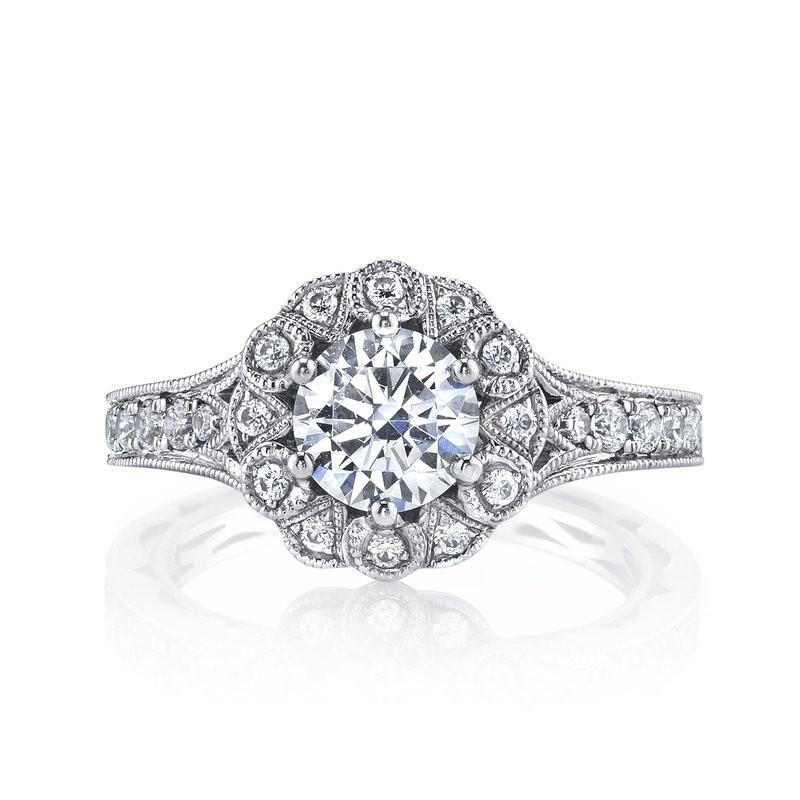 MARS 26006 Diamond Engagement Ring, 0.57 Ctw.
