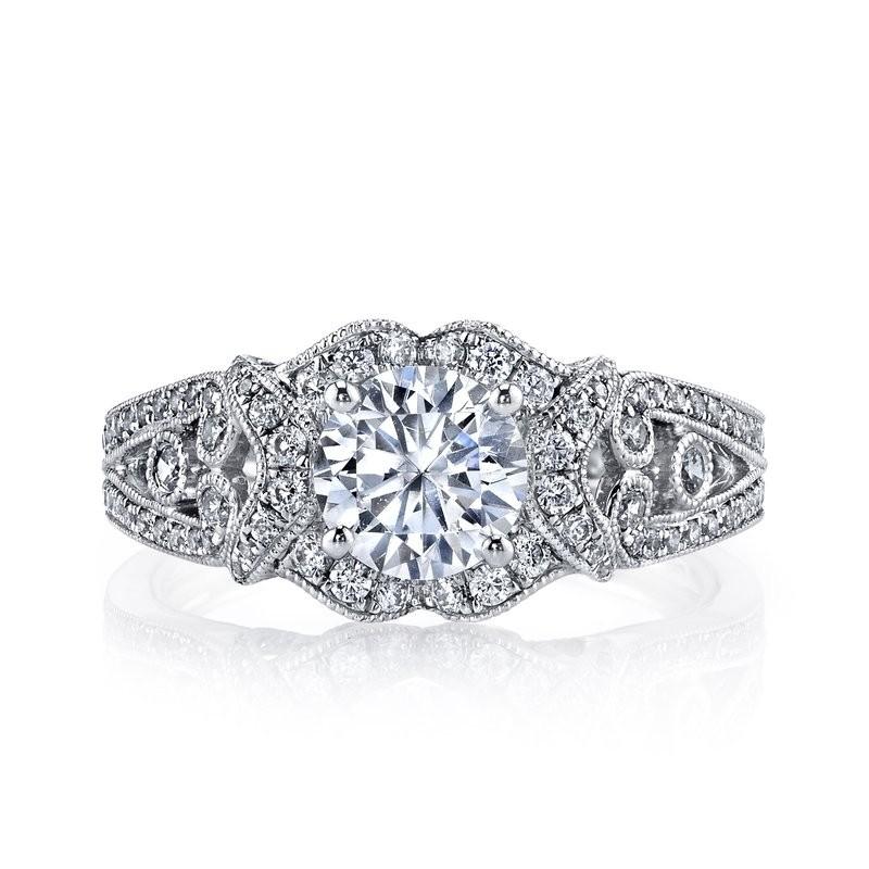 MARS 26021 Diamond Engagement Ring, 0.64 Ctw.