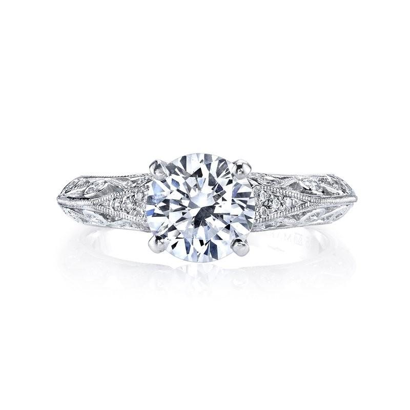 MARS 26026 Diamond Engagement Ring, 0.12 Ctw.