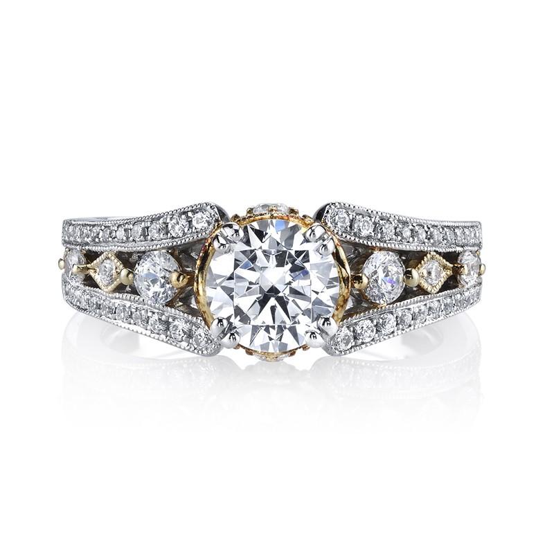 MARS 26048TT Diamond Engagement Ring 0.46 Ctw.