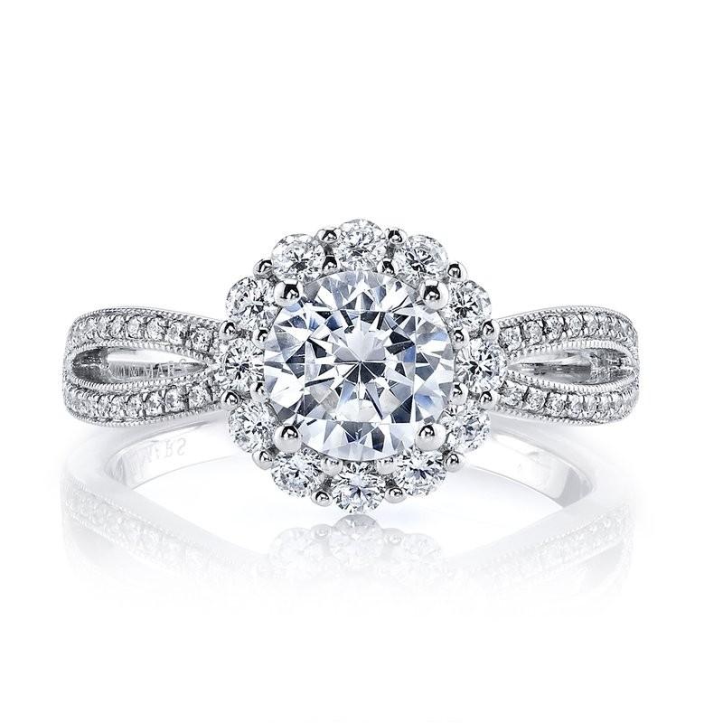MARS 26219 Diamond Engagement Ring 0.60 Ctw.