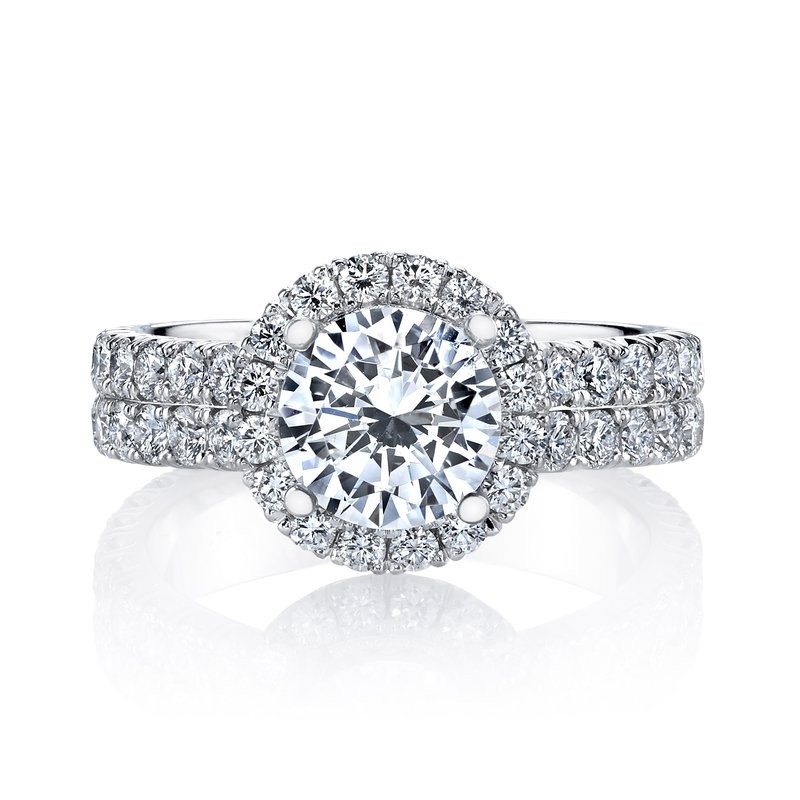 MARS 26356 Diamond Engagement Ring 1.70 Ctw.