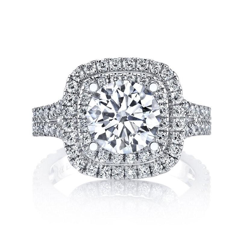 MARS 26492 Diamond Engagement Ring 0.88 Ctw.