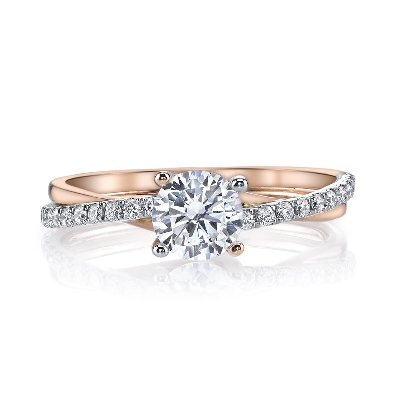 MARS 26509 Diamond Engagement Ring 0.17 Ctw.