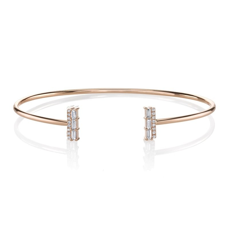 MARS Fashion Bracelet, 0.06 Ct Rd 0.19 Ct Bg