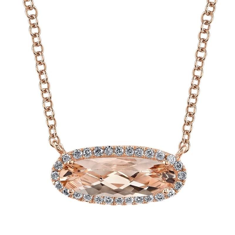 MARS Fashion Necklace, 0.14 Dia. 1.42 Morgan.