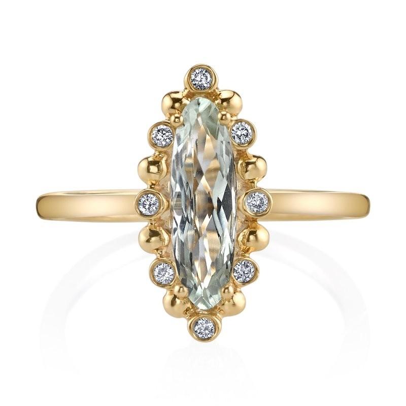 MARS Fashion Ring, 0.09 Dia. 1.03 G Ameth.