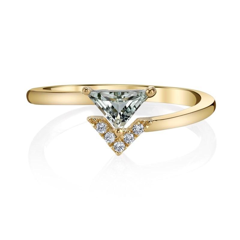 MARS Fashion Ring, 0.04 Dia. 0.34 G Ameth.