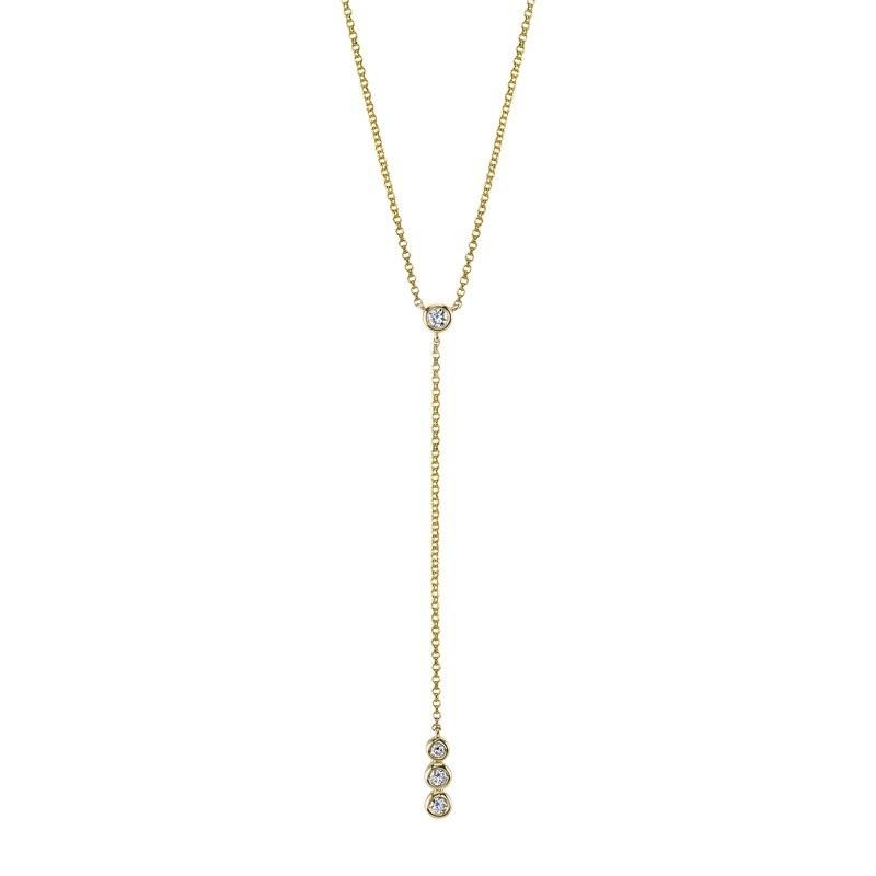 MARS Fashion Necklace, 0.14 Ctw.
