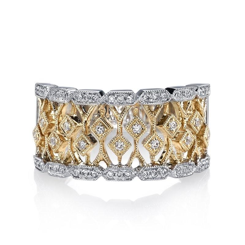 MARS Fashion Ring, 0.27 Ctw.