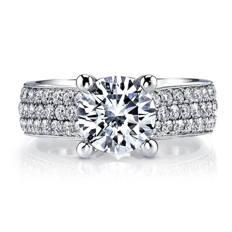 MARS R264 Diamond Engagement Ring, 1.37 Ctw.