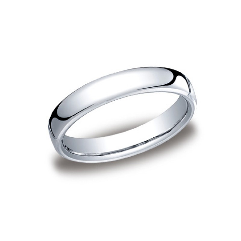 Benchmark 4.5mm Classic Round Comfort-Fit Cobalt Chrome Ring