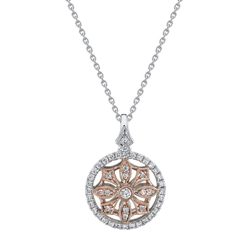 MARS Fashion Necklace, 0.37 Ctw.