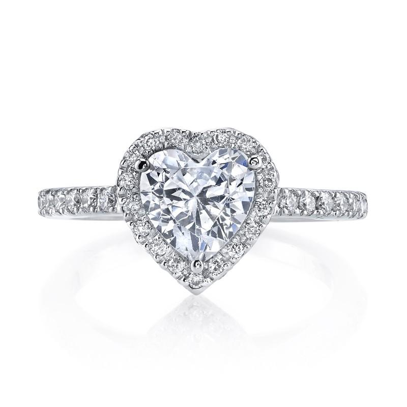 MARS 13759 Diamond Engagement Ring 0.42 Ctw.