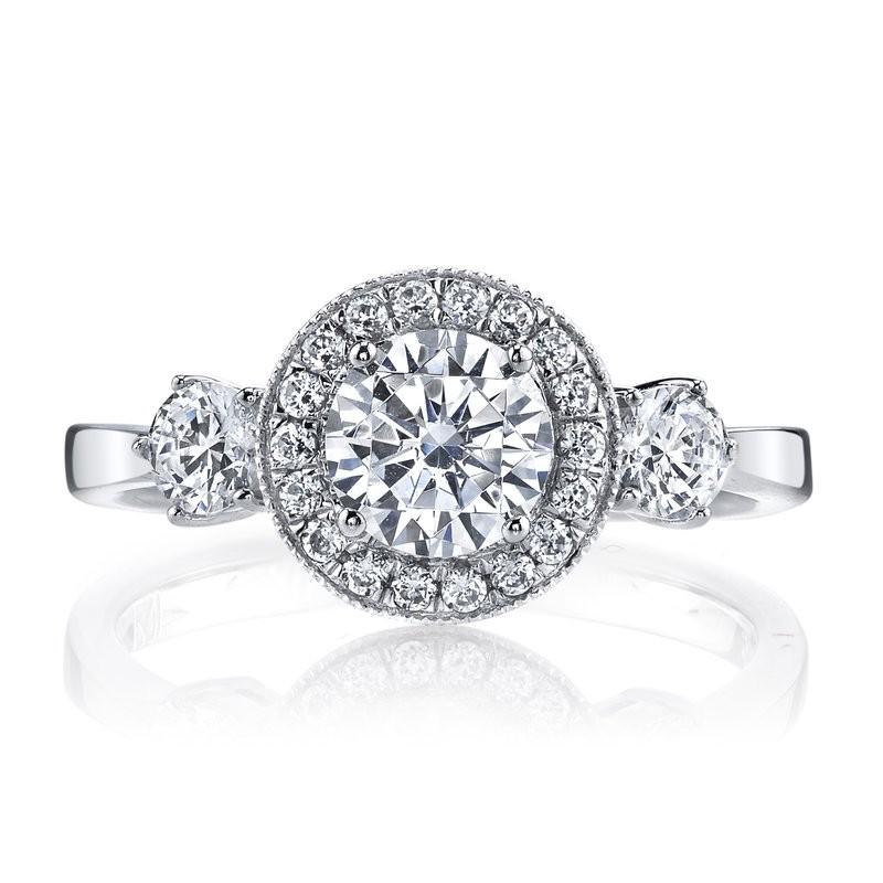 Diamond Engagement Ring 0.53 ct tw
