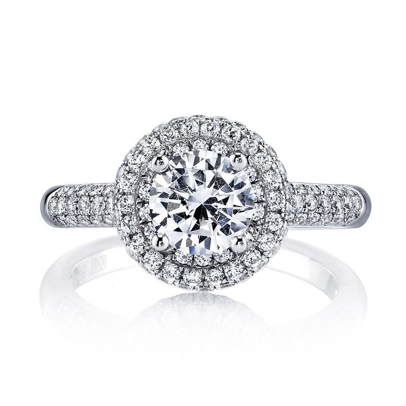 MARS 25132 Diamond Engagament Ring 0.79 Ctw.