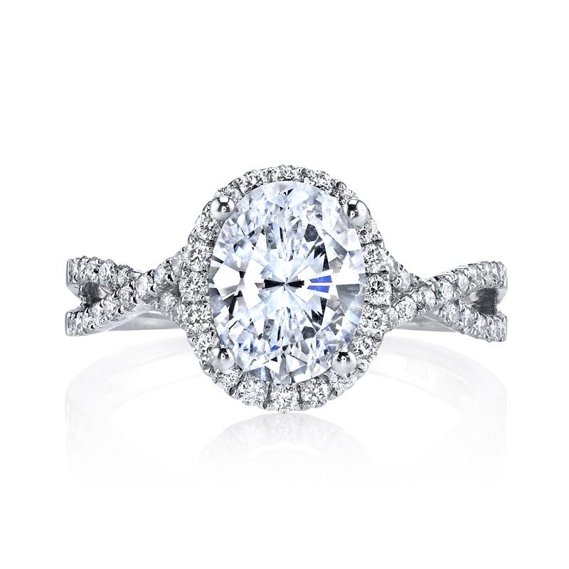 MARS 25156 Diamond Engagement Ring 0.43 Ctw.