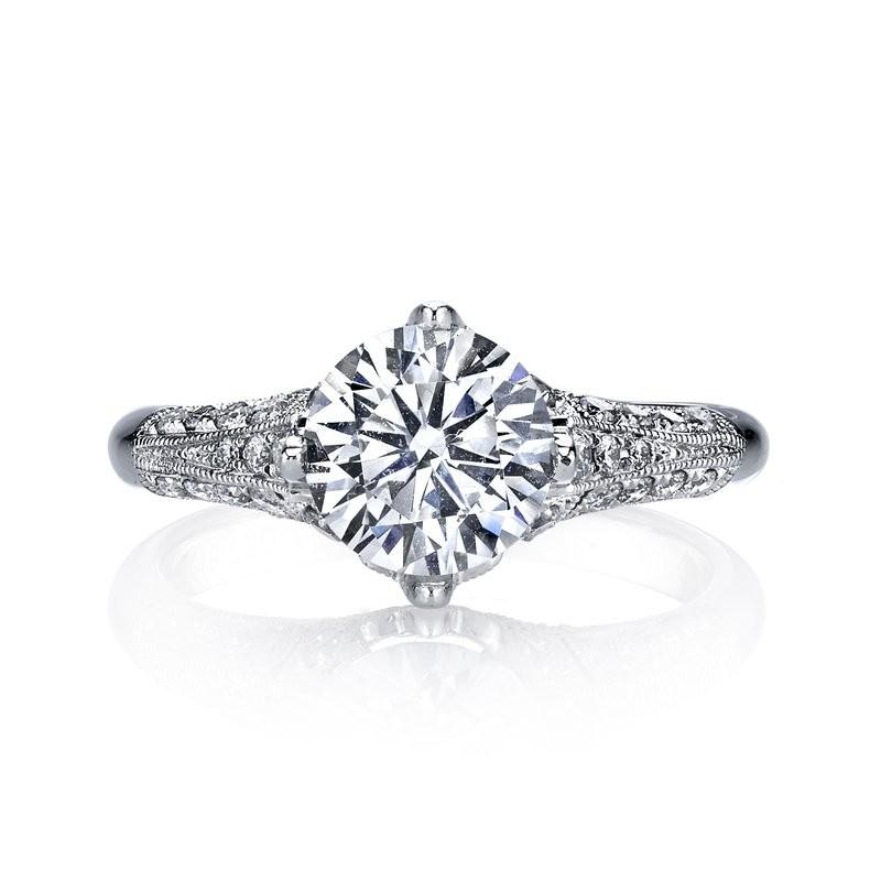 MARS 25321 Diamond Engagement Ring 0.40 Ctw.