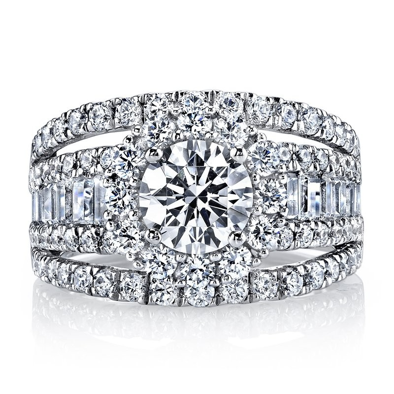 MARS 25625 Diamond Engagement Ring 2.27 Ctw.