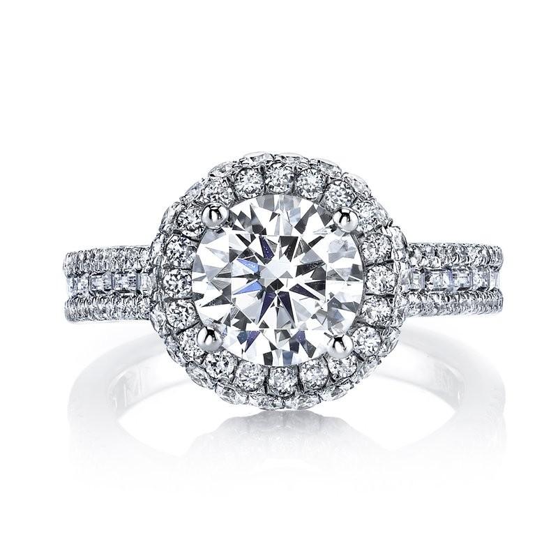MARS 25637 Diamond Engagement Ring 1.09 Ctw.