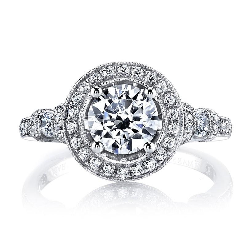 MARS 25723 Diamond Engagement Ring 0.52 Ctw.