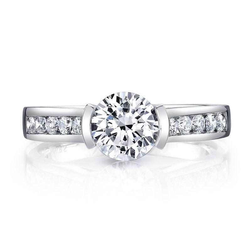 MARS 25726 Diamond Engagement Ring, 0.29 Ctw.