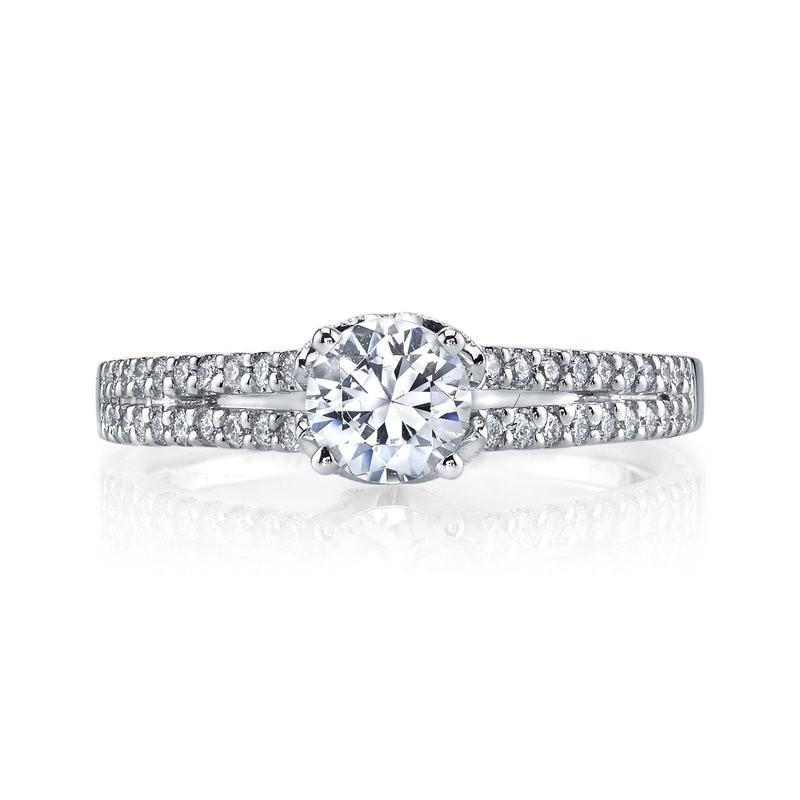 MARS 25813 Diamond Engagement Ring 0.25 Ctw.