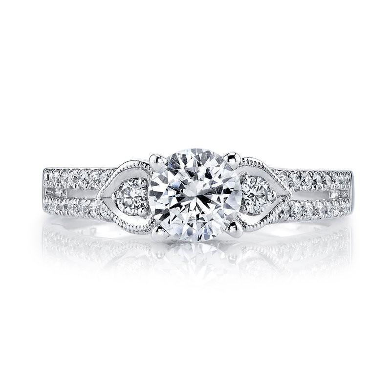 MARS 25858 Diamond Engagement Ring 0.29 Ctw.