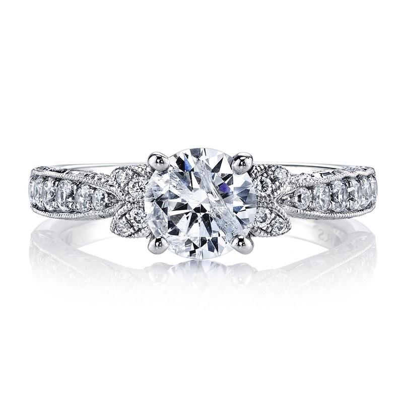 MARS 26093 Diamond Engagement Ring, 0.42 Ctw.