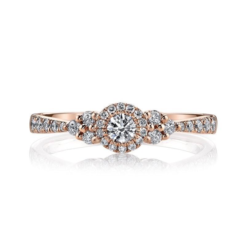 MARS 26107 Diamond Engagement Ring, 0.45 Ctw.