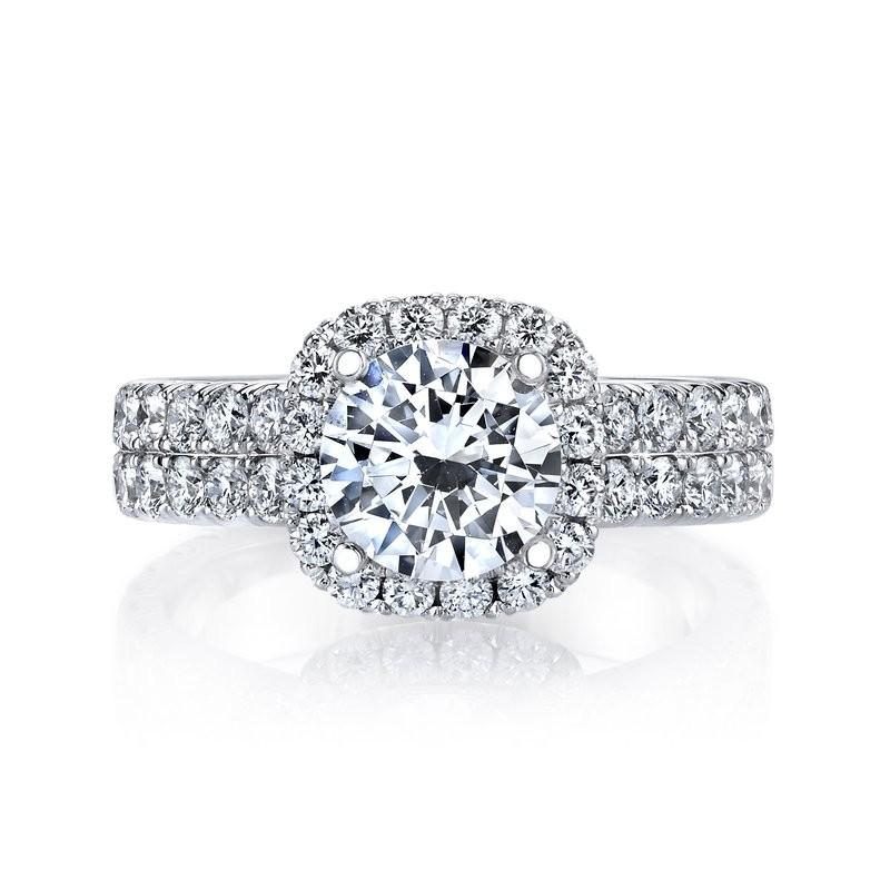 MARS 26452 Diamond Engagement Ring 1.70 Ctw.