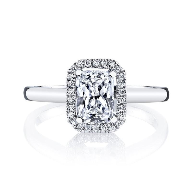 MARS 26498 Diamond Engagement Ring 0.08 Ctw.