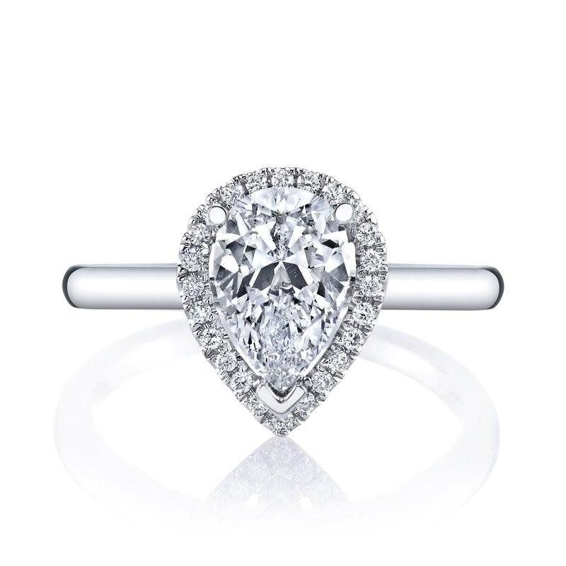 MARS 26499 Diamond Engagement Ring 0.11 Ctw.