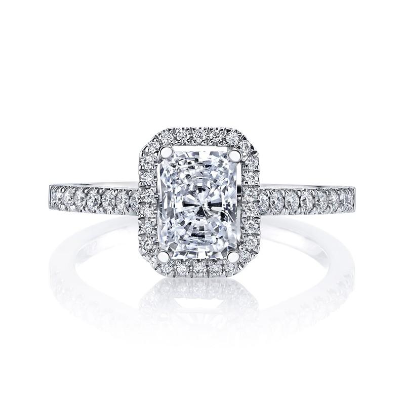 MARS 26500 Diamond Engagement Ring 0.25 Ctw.