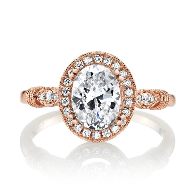 MARS Engagement Ring, 0.15 Ctw.