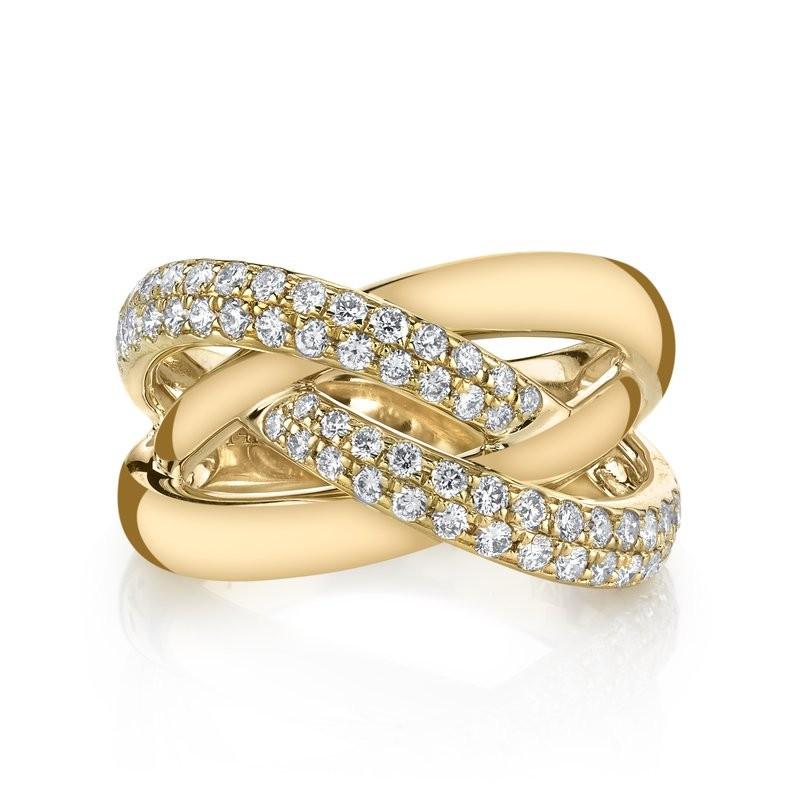 MARS Fashion Ring, 0.73 Ctw.